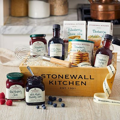 Stonewall Kitchen Berry Breakfast Gift Basket