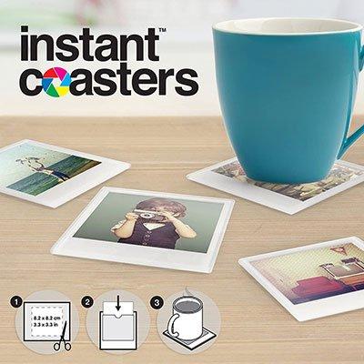 Instant Coaster Photo Coasters