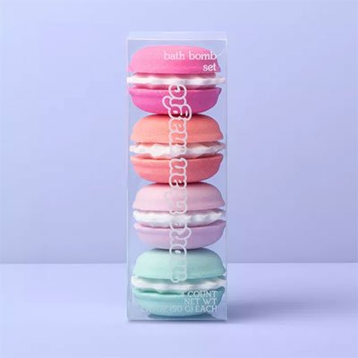 Macaron-bath-bomb